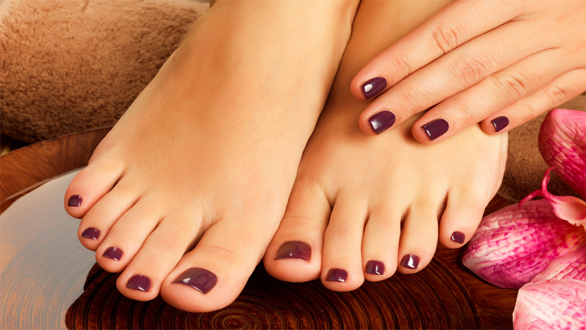 types of pedicure services
